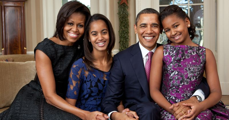 "Proud Mom Michelle Obama Says She Is ""In Awe Of Her Children"" For Their Poise and Grace"