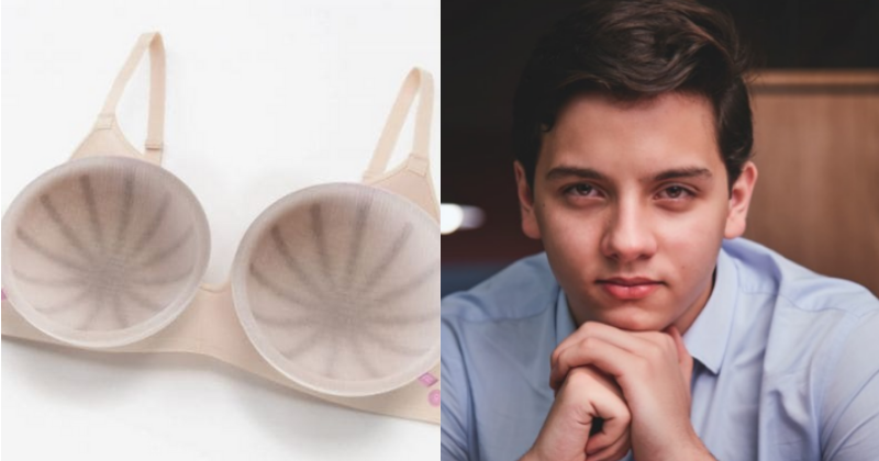19 Yr Old Invents Bra That Detects Breast Cancer Early After Almost Losing His Mother To The Disease