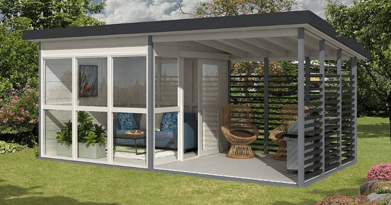Is Ing A Diy Backyard Guest House And You Can Make Your Own Cabin In Just 8 Hours