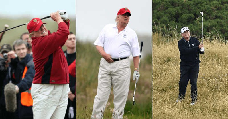 Trump's Golfing Expenses Touch $100 Million, And It's On The Taxpayer's Tab, You're Paying For It