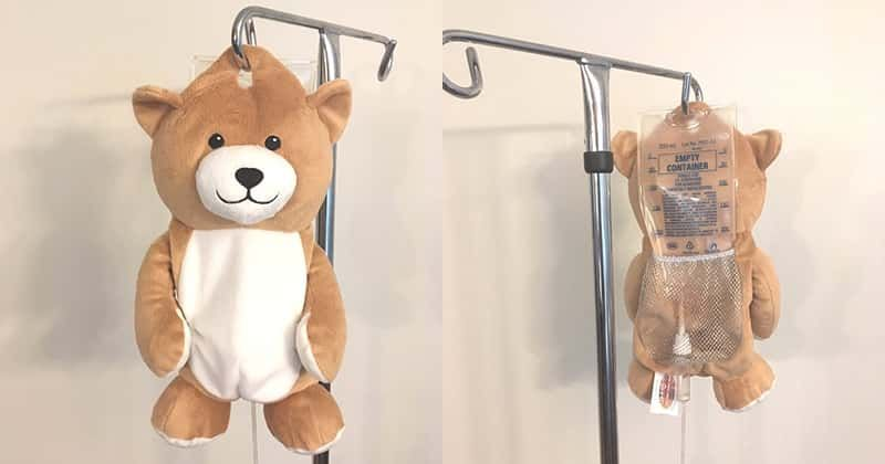 Girl With Rare Disease Invents Teddy Bears That Hide IV Bags