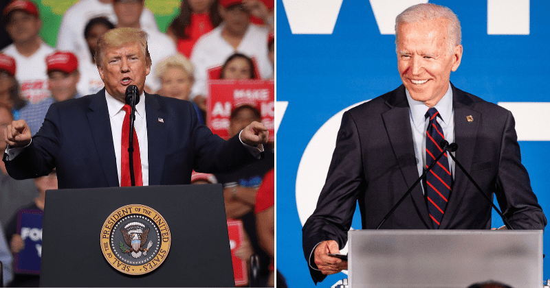 New Poll Reveals Joe Biden Beating Donald Trump With A Stunning Victory In 2020