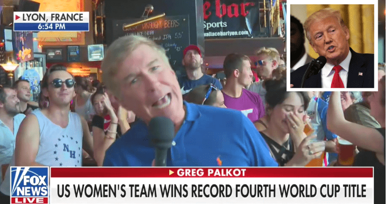 F**k Trump' Chants Interrupt Fox News' Live Coverage Of Soccer World Cup