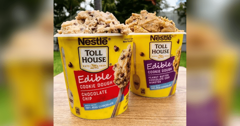 Nestle Toll House Just Debuted Cookie Dough That You Can Eat Straight From The Tub