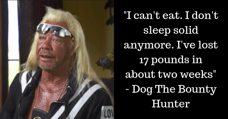 Dog The Bounty Hunter Sleeps Next To Beth Chapman's Ashes Every