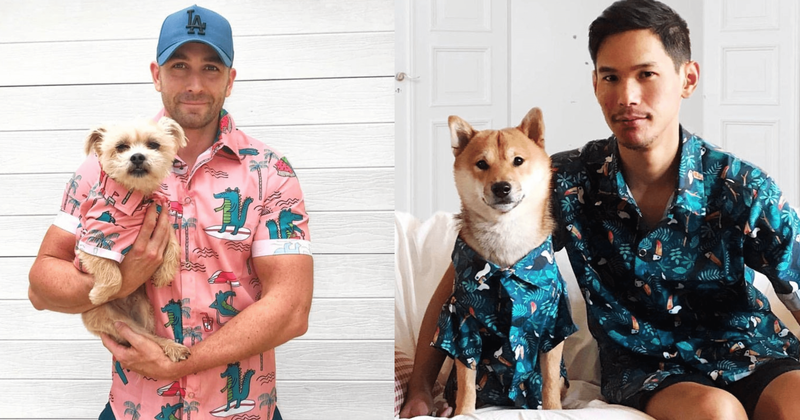 Summer Just Got Cooler With These Matching Hawaiian Shirts For You And Your Pup