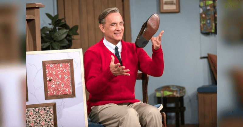 Tom Hanks Singing As Mister Rogers In 'A Beautiful Day in