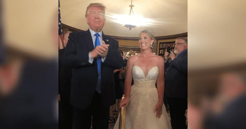 Trump Crashes Wedding.Donald Trump Crashes Another Wedding Hours After Mass Shooting At El