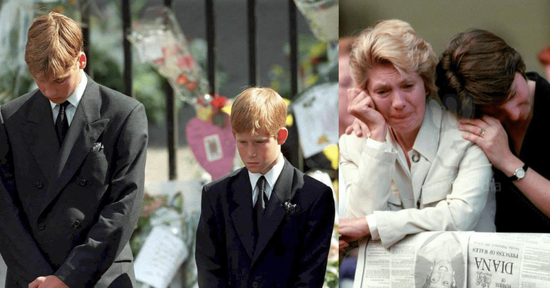 Heartbreaking Photos From Princess Diana S Funeral Show Why She S