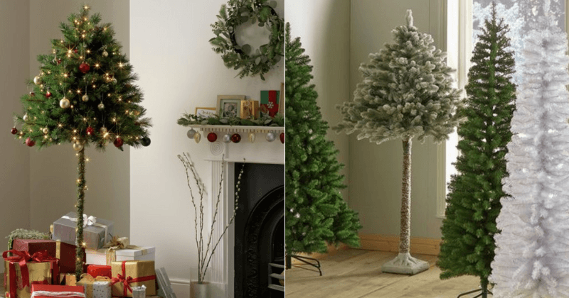 Half Christmas Tree.Argos Is Selling Half Christmas Trees Perfect For People