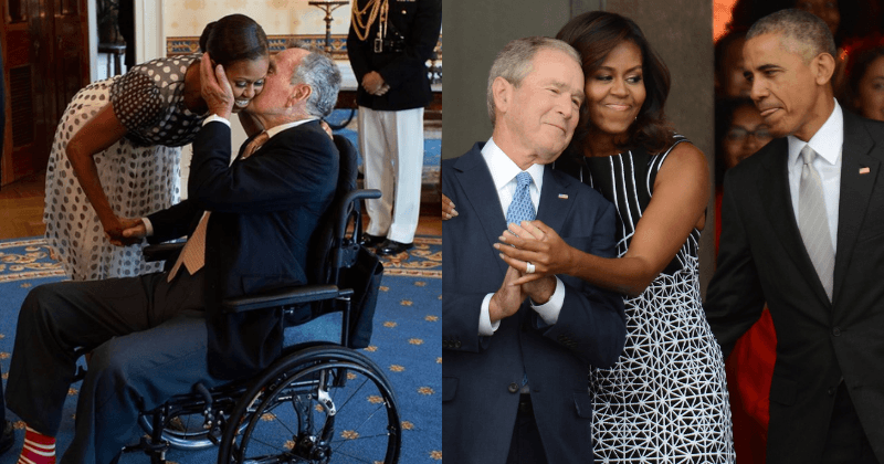 Michelle Obama Cancels Her Berlin And Paris Book Tours To Attend George H.W. Bush's Funeral