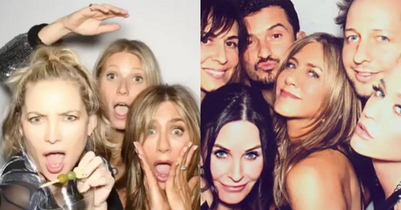 Jennifer Aniston Celebrates 50th Birthday With Friends