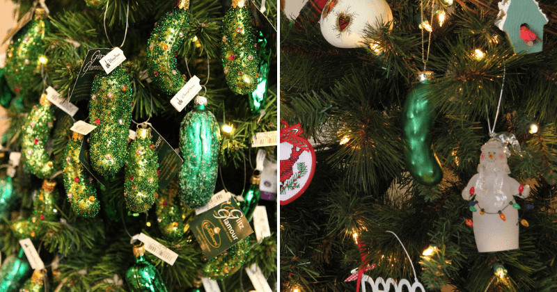 There's A Strange Story Behind The Christmas Pickle Tradition