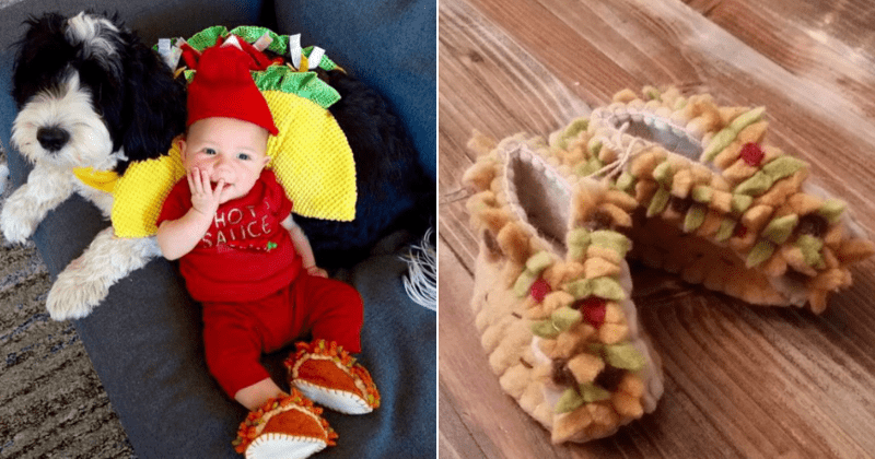 Baby Taco Booties Are A Thing And They