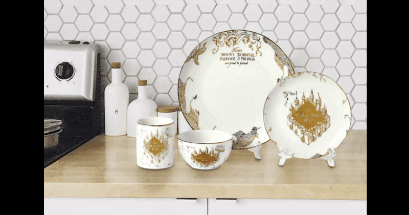 Target Is Selling Harry Potter Dinnerware And It's Stunning