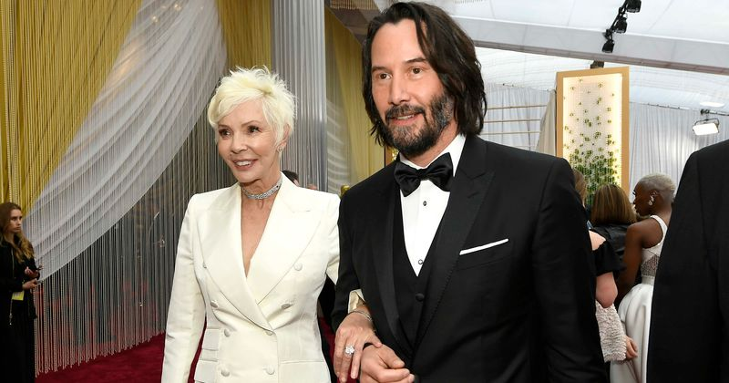 Image result for keanu reeves mother oscar
