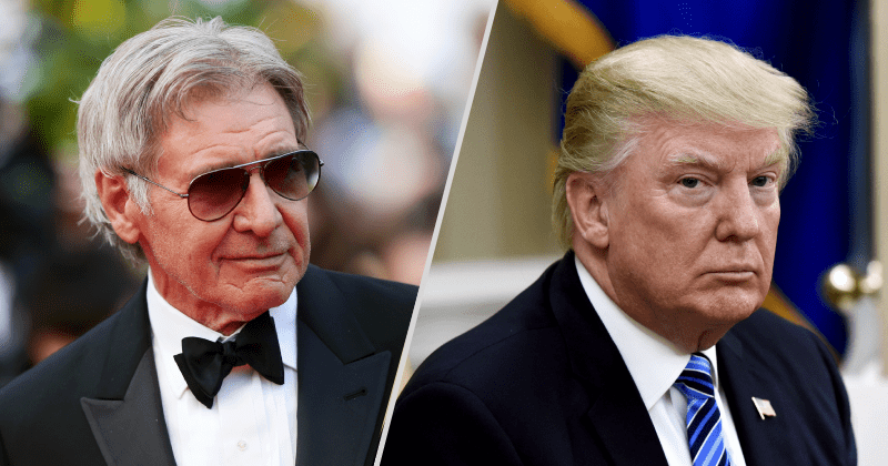 Harrison Ford Calls Trump A 'Son Of A B*tch' On Talk Show, Viewers Wonder If He Was Drunk