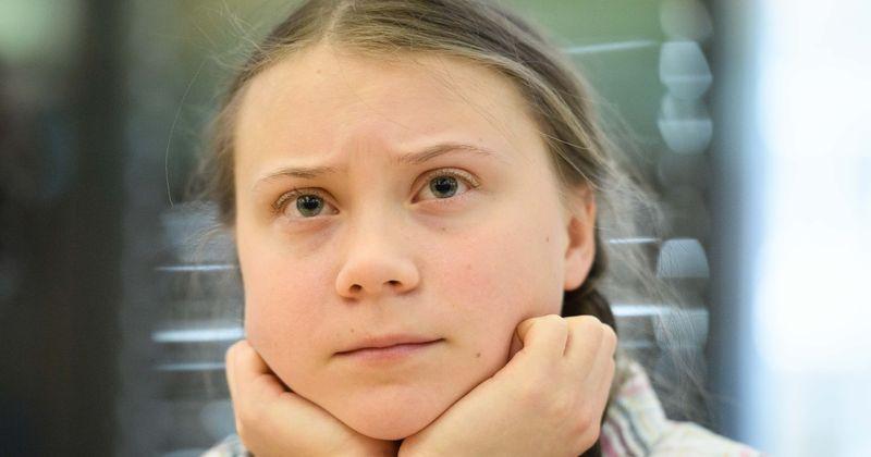 Employees At Oil Company Share Sick Cartoon Of Greta Thunberg
